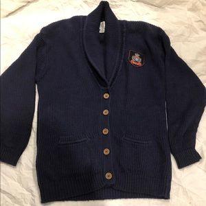Vintage MCII Blue Sweater Sz Md